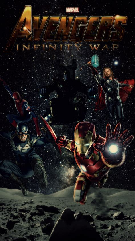 Hd Wallpaper For Mobile Marvel by Infinity War Hd Mobile Wallpaper By