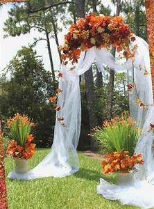 Idee Deco Pour Mariage : d coration mariage automne pour une journ e magique ideeco ~ Teatrodelosmanantiales.com Idées de Décoration