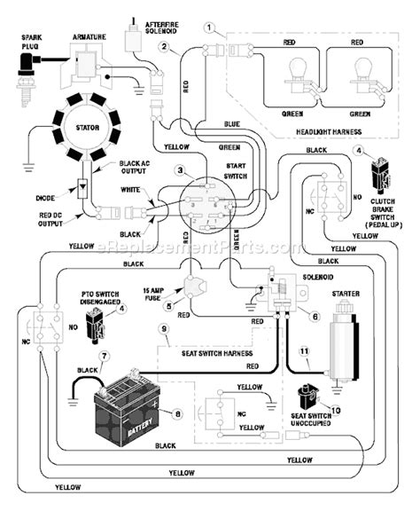 Garden Tractor Wiring Diagram Mtd 13ag601h729 by Murray 38504a Parts List And Diagram 1997