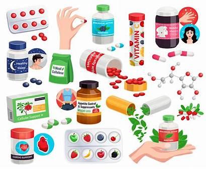 Appetite Additives Suppressants Vitamins Control Biological Active