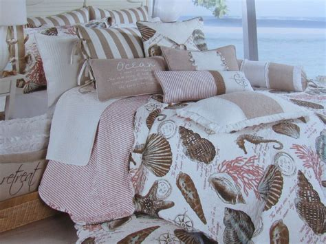 Coastal Coverlet by Coastal Collection Sea Nautical Seashell Quilt
