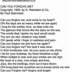 Can You Forgive Me Quotes. QuotesGram