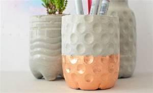 Beton Vase Selber Machen : deko aus beton felicity basteln pinterest deko ~ Markanthonyermac.com Haus und Dekorationen