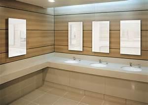 Plan De Travail Salle De Bain Bois : salle de bain plan de travail de salle de bain moderne clair en quartz ~ Teatrodelosmanantiales.com Idées de Décoration