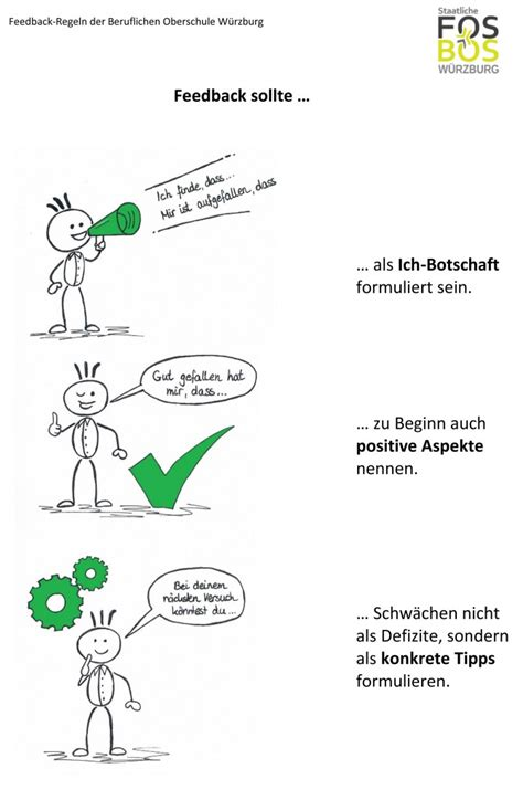 feedback regeln fos bos wuerzburg