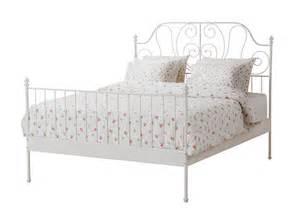 Ikea Leirvik Bed Frame by Ikea White Metal Bed Frame Full