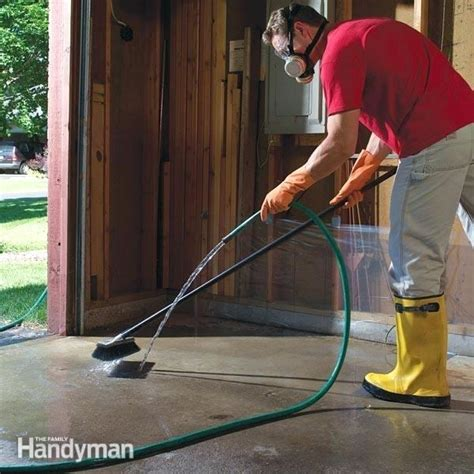 how to remove paint from garage floor how to get paint concrete carlislerccar club