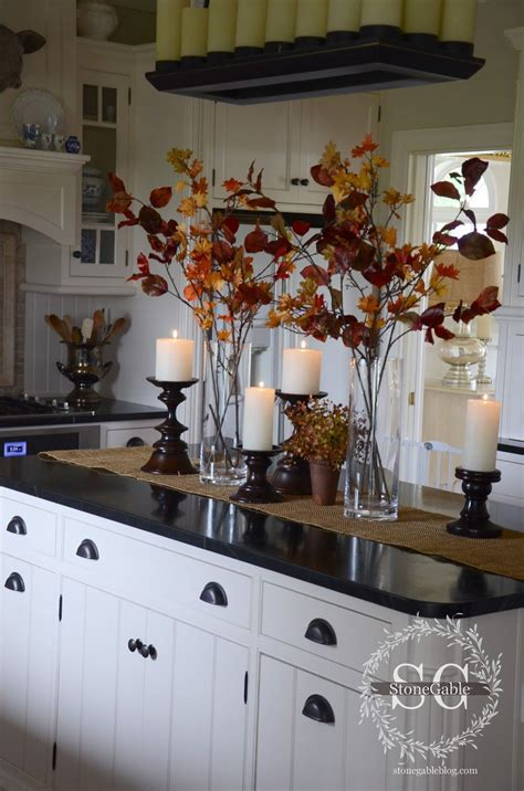 Decorating Ideas For Kitchen Tables by All About The Details Kitchen Home Tour Fall Inspiration