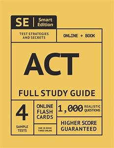 Act Full Study Guide 2019