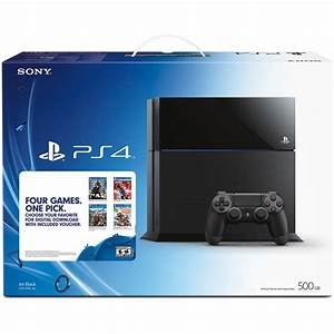 Sony PlayStation 4 Four Games, One Pick Bundle 3000767 B&H ...
