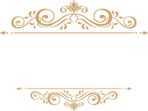 png ornamental frame konfest