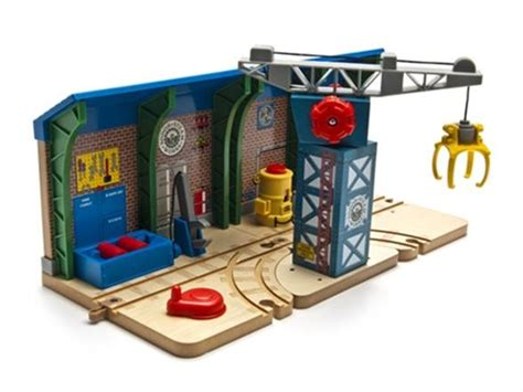 Thomas Tidmouth Sheds Wooden by Thomas Amp Friends Wooden Railway Repair Amp Go Sodor