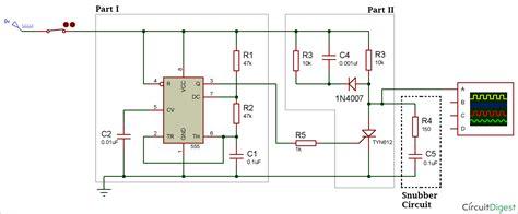 Thyristor Switching Using Snubber Circuit