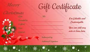 holiday gift certificate template free printable - 20 holiday gift certificate templates free sample