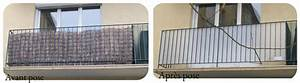 Balcon Pare Vue : brise vue verre depoli ~ Premium-room.com Idées de Décoration