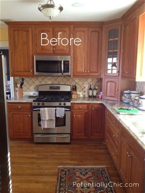 Lighter and Brighter Kitchen in Linen Milk Paint and Van