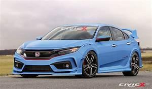 2017 Honda Civic Type R Looks Ready To Summon Satan In