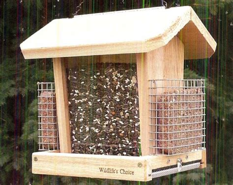 squirrel feeder plan woodworking projects plans