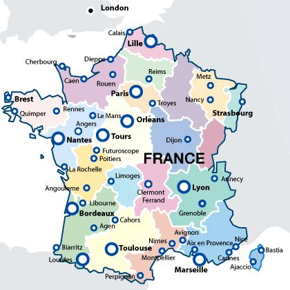 map  france  cities french town map french cities