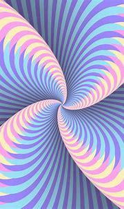 Holographic Color Swirl Circular Movement Illusion ...