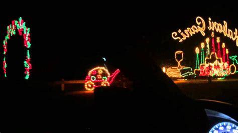 jones beach holiday light show 2015 youtube
