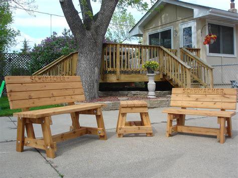 Handmade Outdoor Wood Furniture  Best Decor Things