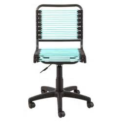 turquoise bungee office chair the container store