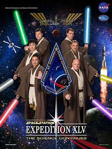 Future space station crew dons Jedi robes for Star Wars ...