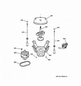 Suspension  Pump  U0026 Drive Components Diagram  U0026 Parts List