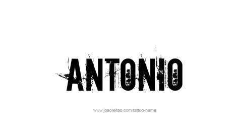 antonio  tattoo designs