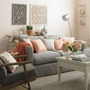 Salon Gris Et Rose : quelle est la meilleure association de couleur avec le ~ Melissatoandfro.com Idées de Décoration