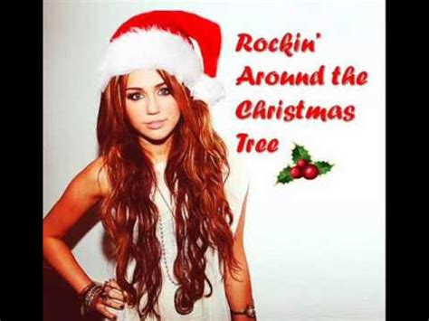 miley cyrus rockin around the christmas tree audio