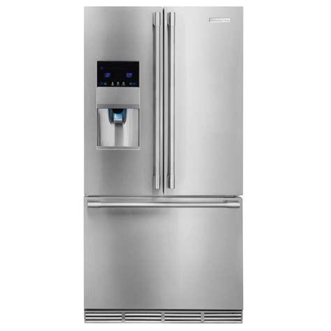 Cabinet Depth Door Refrigerator Stainless by Shop Electrolux Icon 22 5 Cu Ft Counter Depth Door