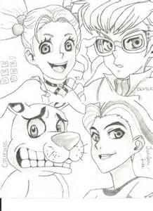 Cartoon Network Characters Drawings