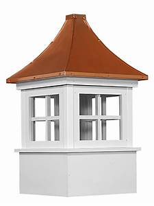 carlisle 72quot cupola copper top vinyl With copper cupola tops