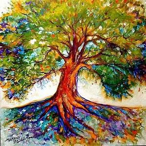 Colorful tree of life-tattoo idea | Tattoos | Pinterest ...
