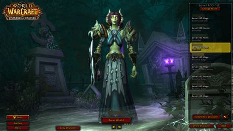 World Of Warcraft Undead Wallpaper New Orc Char Select Screen Wow