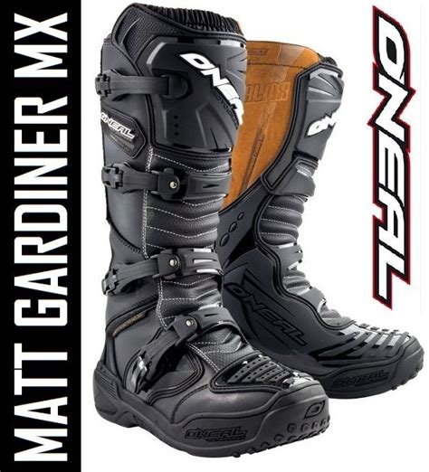 oneal element motocross boots oneal element 3 profit mx motocross boots black enduro rrp