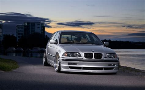 Stanced BMW E46 touring Photos - Cars One Love