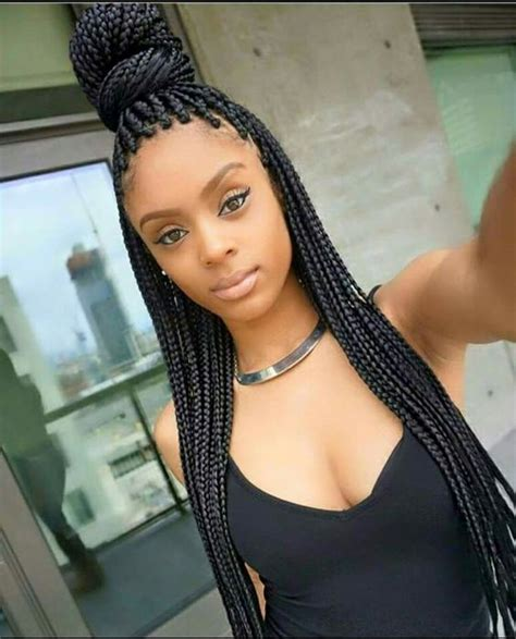 From Boss to Badass: 11 Box Braid Hairstyles You Can Try