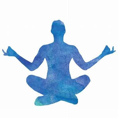 Yoga Meditation Silhouette Clipart Pose Tree Clip