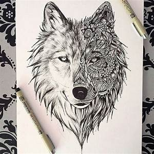 Draw a wolf: a collection of ideas to try about Art ...
