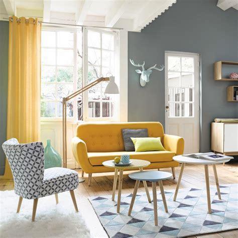 canapé rotin maison du monde meubles et décoration de style vintage rétro maisons