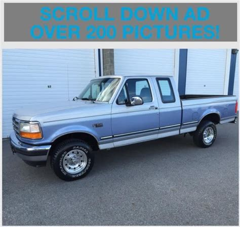 1996 Ford F 150 Specifications by 1996 Ford F150 Supercab 4x4 Xlt 62 152 Actual 2