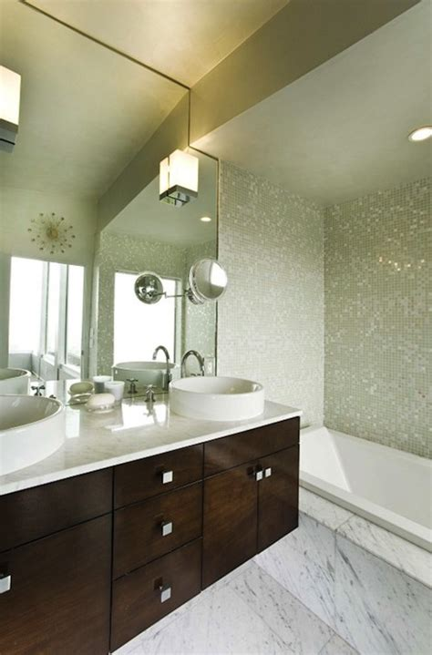 modern master bathroom vanities floating bathroom vanity with bowls sinks modern bathroom
