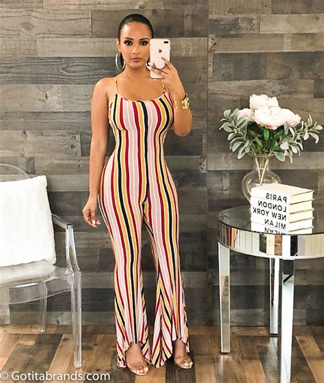 Fashion Jumpsuits For Women Trendy Outfits Lace Up