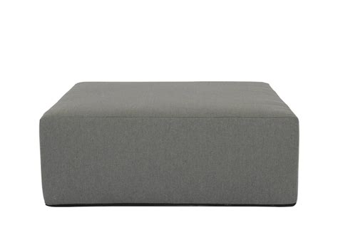 """In addition to teak coffee tables, we even carry cast concrete tables! 48"""" Square Coffee Table/Ottoman Pouf-CO48SQ"""