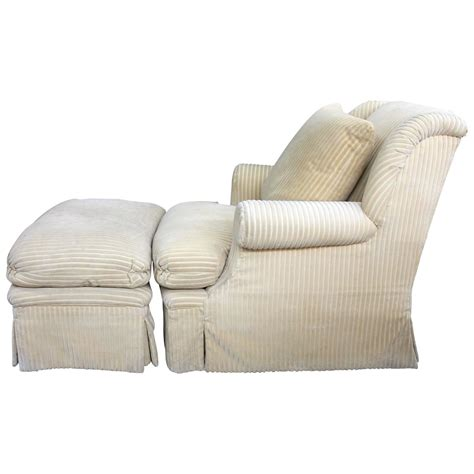 Comfortable Chairs With Ottomans by Large And Comfortable Club Chair And Matching Ottoman For