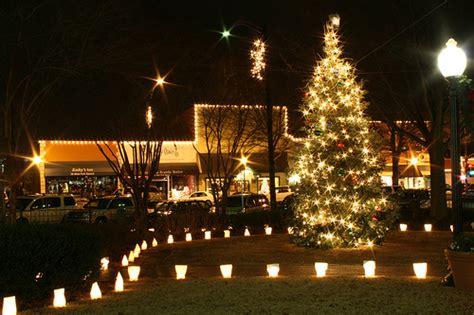must see tree lightings in atlanta