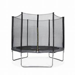 Filet De Protection Jardin : trampoline 305cm mars gris avec son filet de protection trampoline de jardin 3m 300 cm ~ Dallasstarsshop.com Idées de Décoration